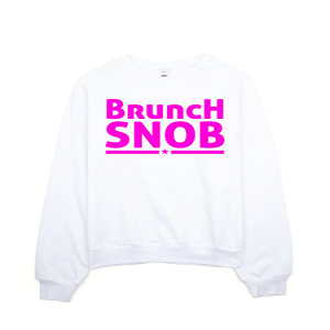 "Brunch Snob ""Pink"" Sweatshirt"