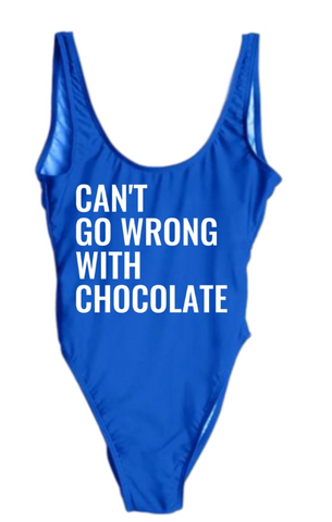 Can't Go Wrong With Chocolate Swimsuit