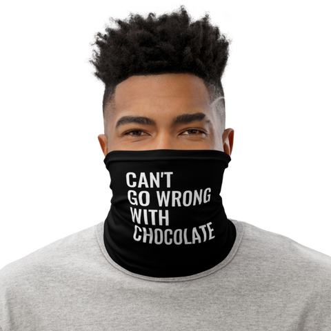 Can't Go Wrong With Chocolate Neck Gaiter