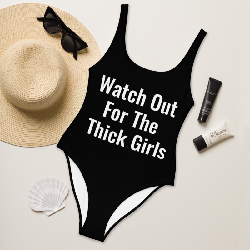 Watch Out For The Girls Swimsuit