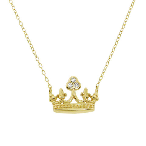 Mary Crown Necklace