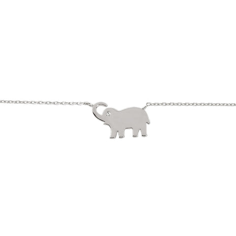 Lucky Elephant Choker/Collar Necklace