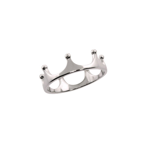 Solid Sterling Silver Julia Crown Ring