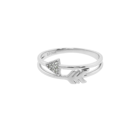 Pave Arrow Wrap Ring