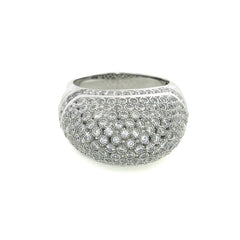 Pave Dome Cocktail Ring