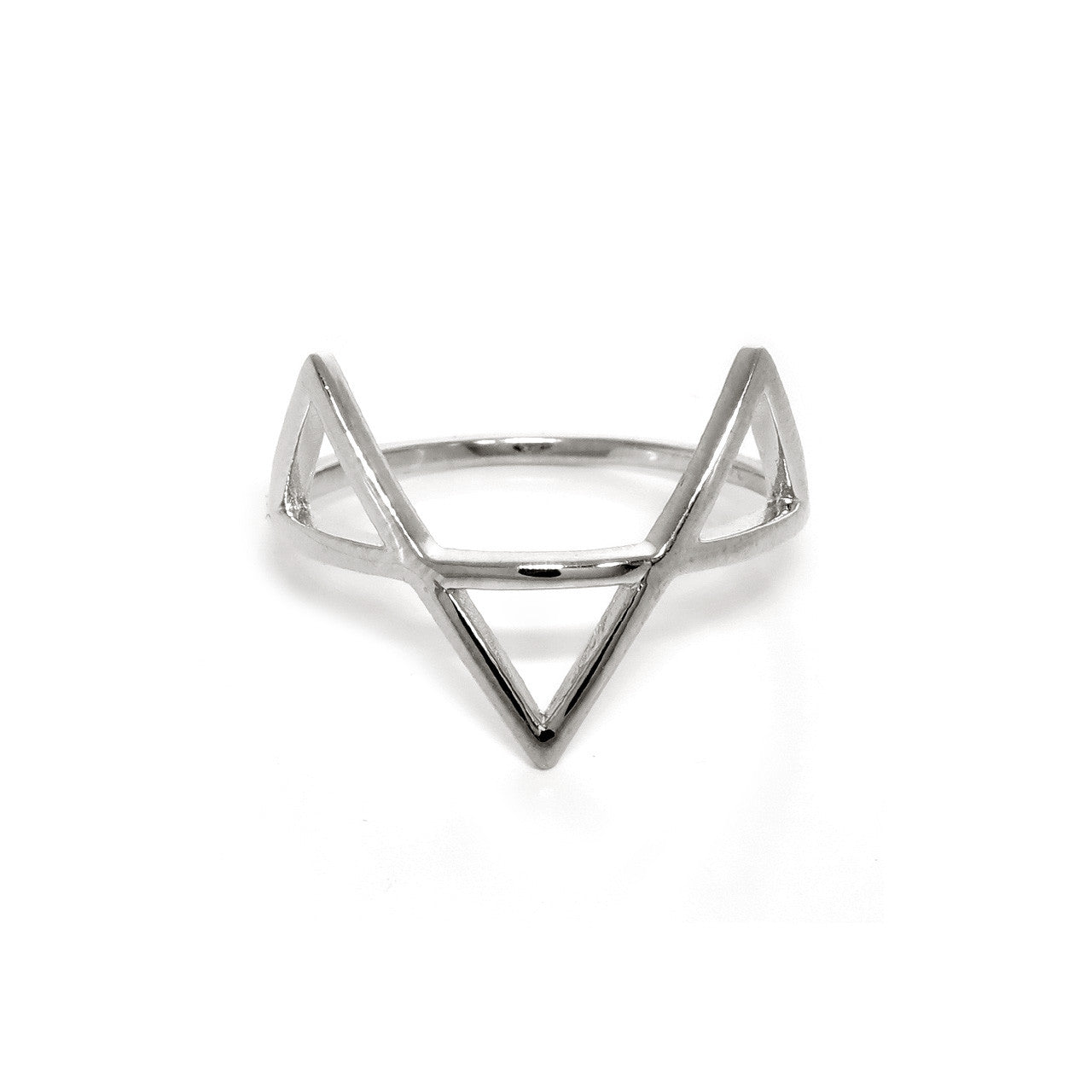 Sterling Silver Victory Ring