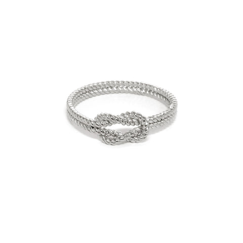 Braided Infinity Knot Ring