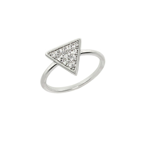 Pave Arrow Head Ring