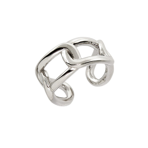 Bold Chain Link Ring