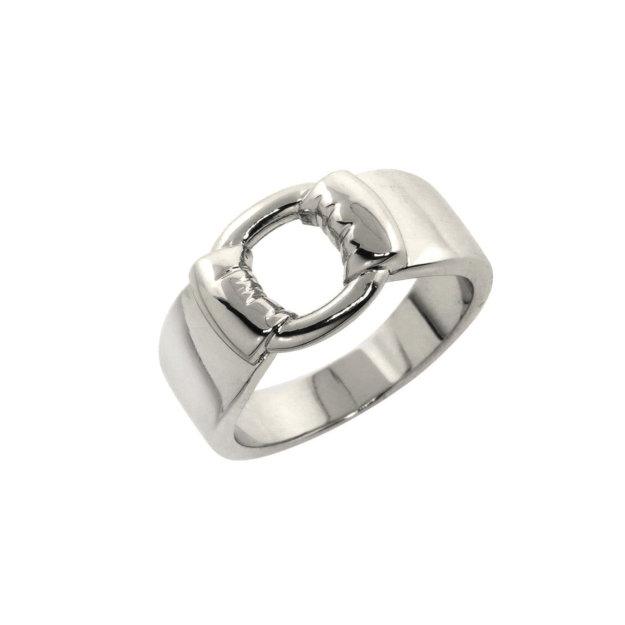 Bold Buckle Ring