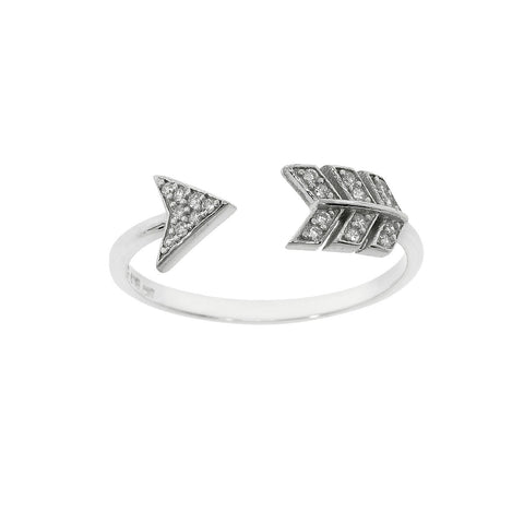 Sterling Silver Arya's Arrow Ring