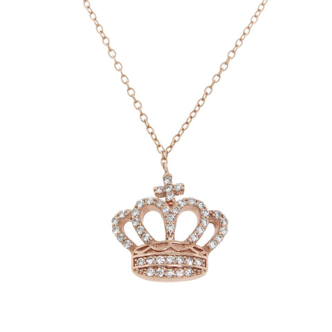 Elizabeth Crown Necklace