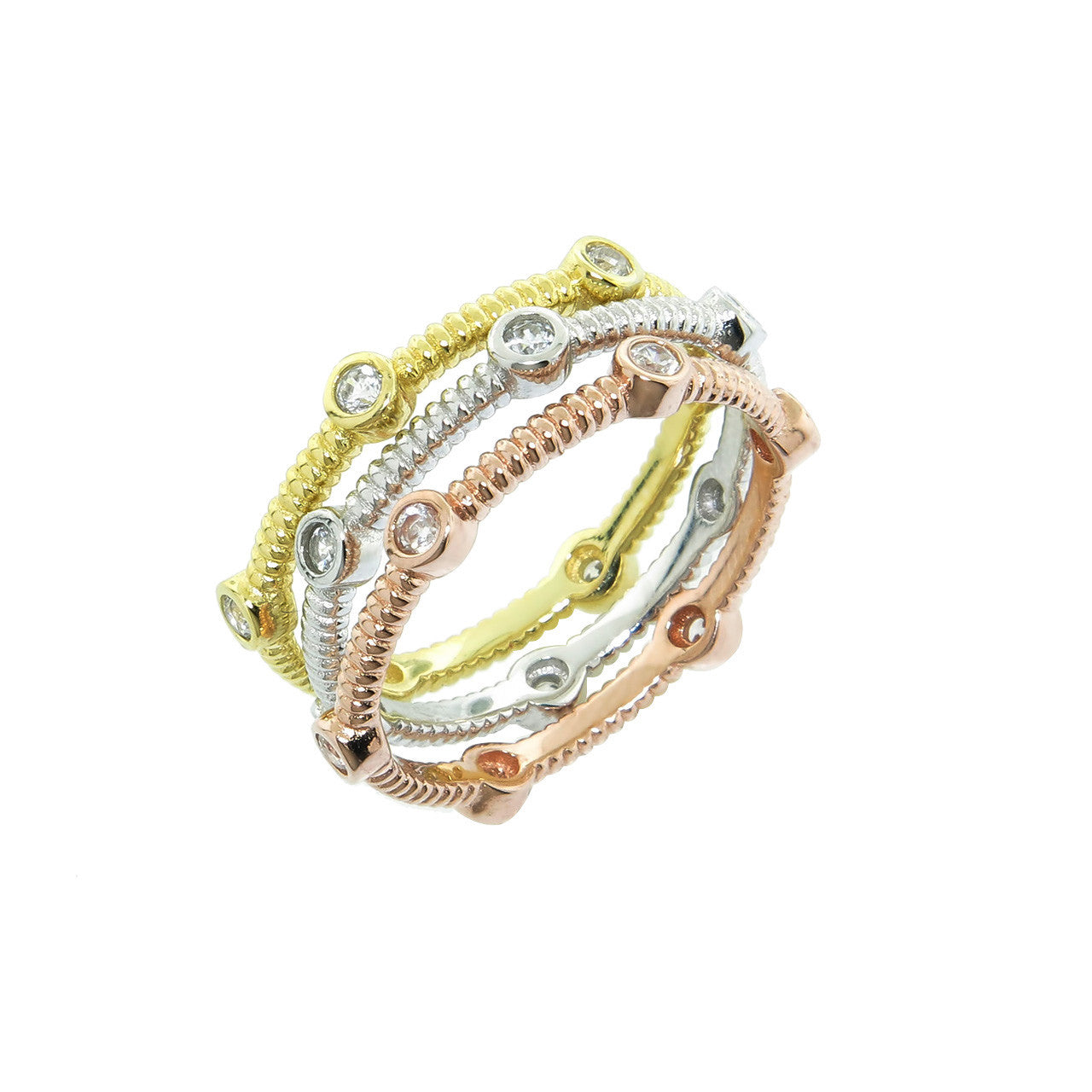 Stackable Cable Rings Set