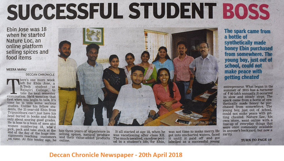 Deccan Chronicle Newspaper - April 2018