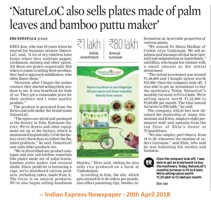 Indian Express Newspaper - 20th April 2018