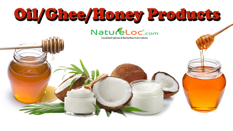 oil ,ghee,and honey products
