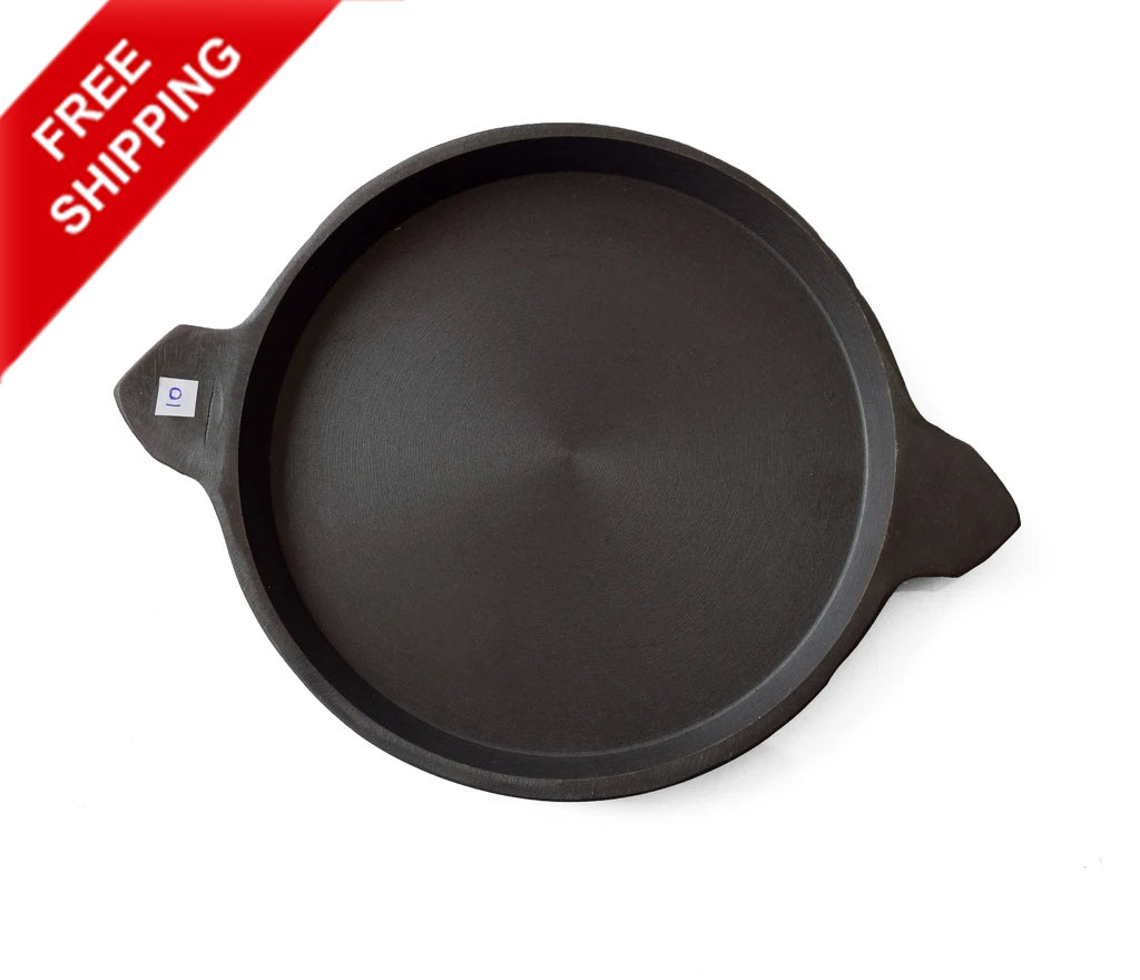 Ada Chatti, Flat Ada Chatti, Raised Edged Pan, Fish Frying Pan - Buy Online