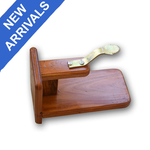 Table Chirava, Thenga Chirava, Movable Wooden Coconut Scraper for Tables, Wooden Coconut Shredder - Buy Online