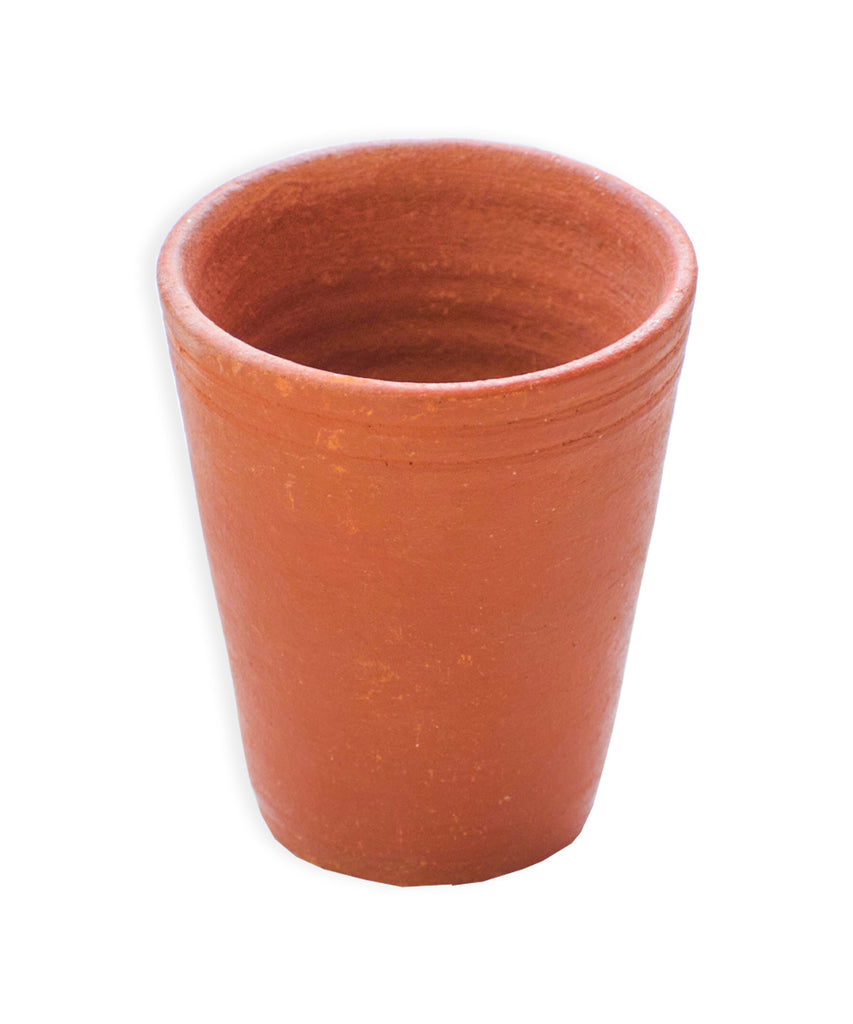 Earthen Glass, Clay Serving Cups, Handmade Earthen Cups, Mitti Cups, Mitti Glasses - Buy Online