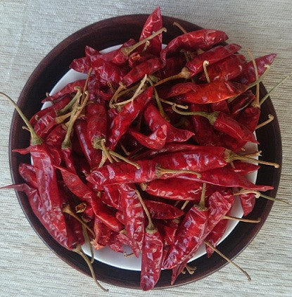 Dried red chillies, Vattal Mulaku - Buy Online