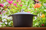 Dutch Oven Cookware Cast Iron Seasoned - Buy Online
