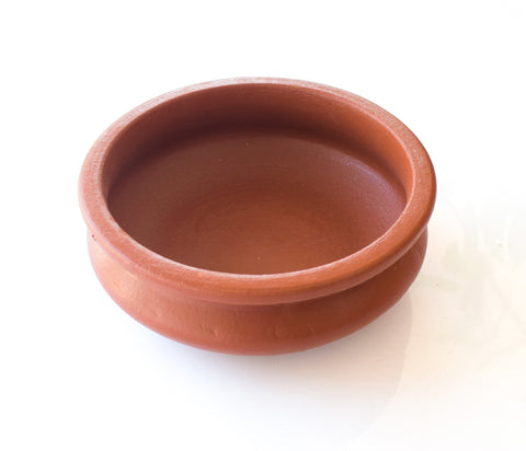 Clay Fish Curry Pot, Clay Kadai Pot, Clay Earthen Cooking Pot - Handmade Earthen Cookware - Buy Online
