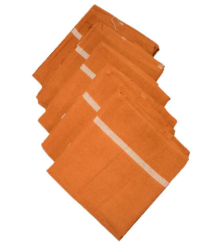 Thorth Kerala Kavi Color Bath Towel Tauliya100% Cotton - Buy Online