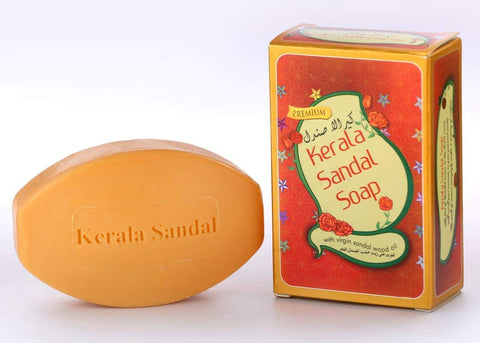 Kerala Sandal Soap With Virgin Sandalwood Oil - Buy Online