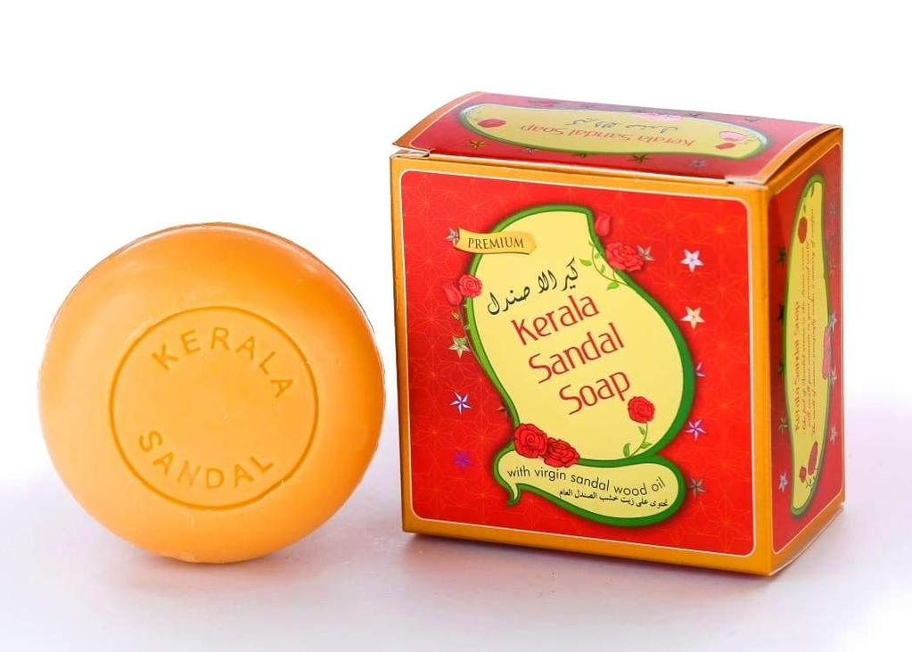 Kerala Sandal Soap With Virgin Sandalwood Oil 150gm -  Kerala Soaps Buy Online