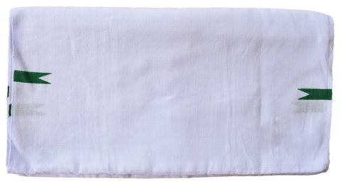 Kerala White Bath Towel Thorth 100% Cotton - Buy Online