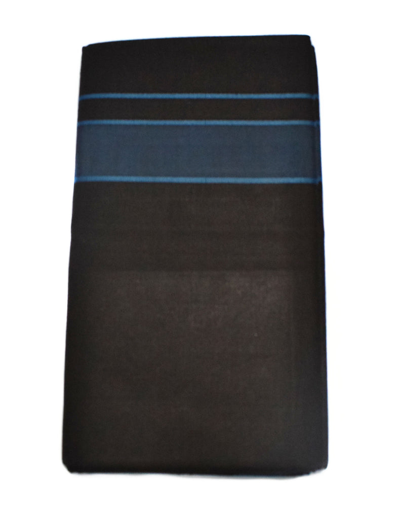 Black Mundu - Kitex Black Cotton Dhoties - Buy Online