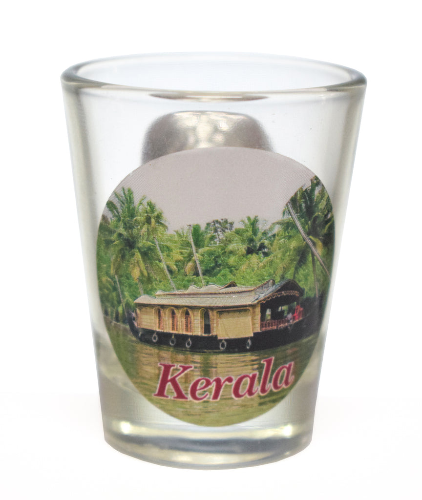 Shot Glass, Shot Glass With Traditional Kerala Sticker, Wine Glass - Buy Online