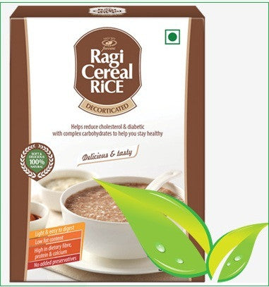 Ragi Rice or Finger millet (Decorticated - husk removed) Ragi Cereal Rice- Buy Online