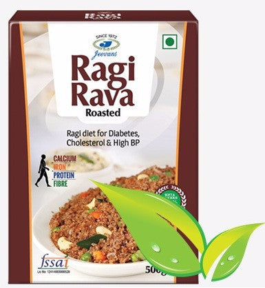 Ragi Rava Roasted - Buy Online - Ragi Products