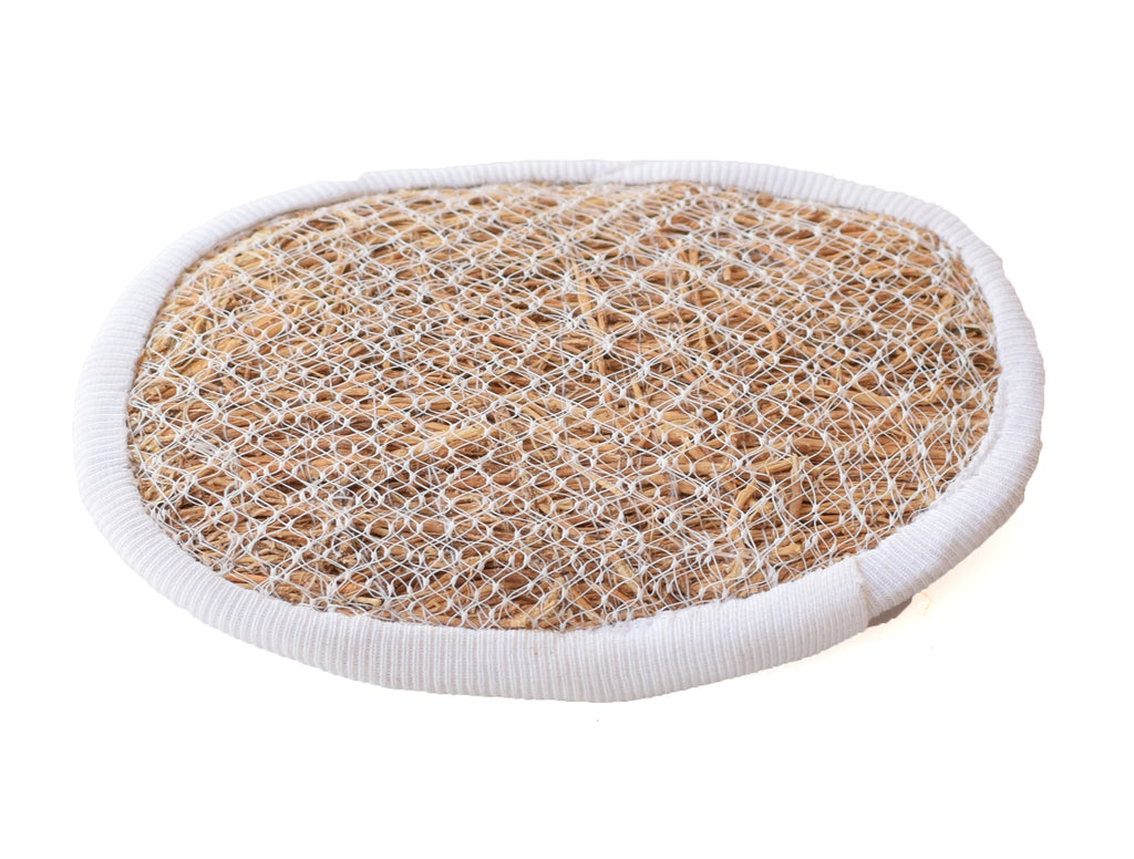 Ramacham-Vetiver Herbal Royal Bath Brush (Scrubber) with comfort grip - Buy Online