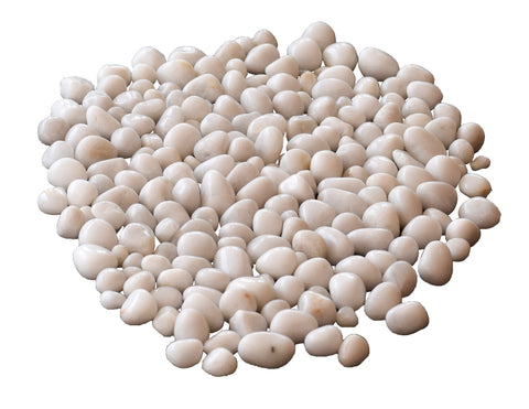 Pebbles White SPR - Gardening Pebbles, Aquarium Decorative Stones, Aquarium Pebbles - Pebbles Buy Online