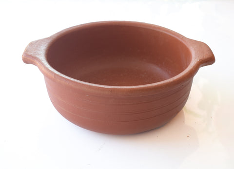 Clay Stock Pot, Clay Curry Pot, Clay Earthen Cooking Pot - Handmade Earthen Cookware - Buy Online