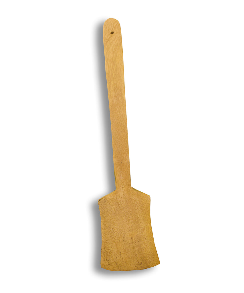 Flat Wooden Spatula, Wooden Ladle for making Dosa or Chappati,  Flat Wooden Spoon - Buy Online