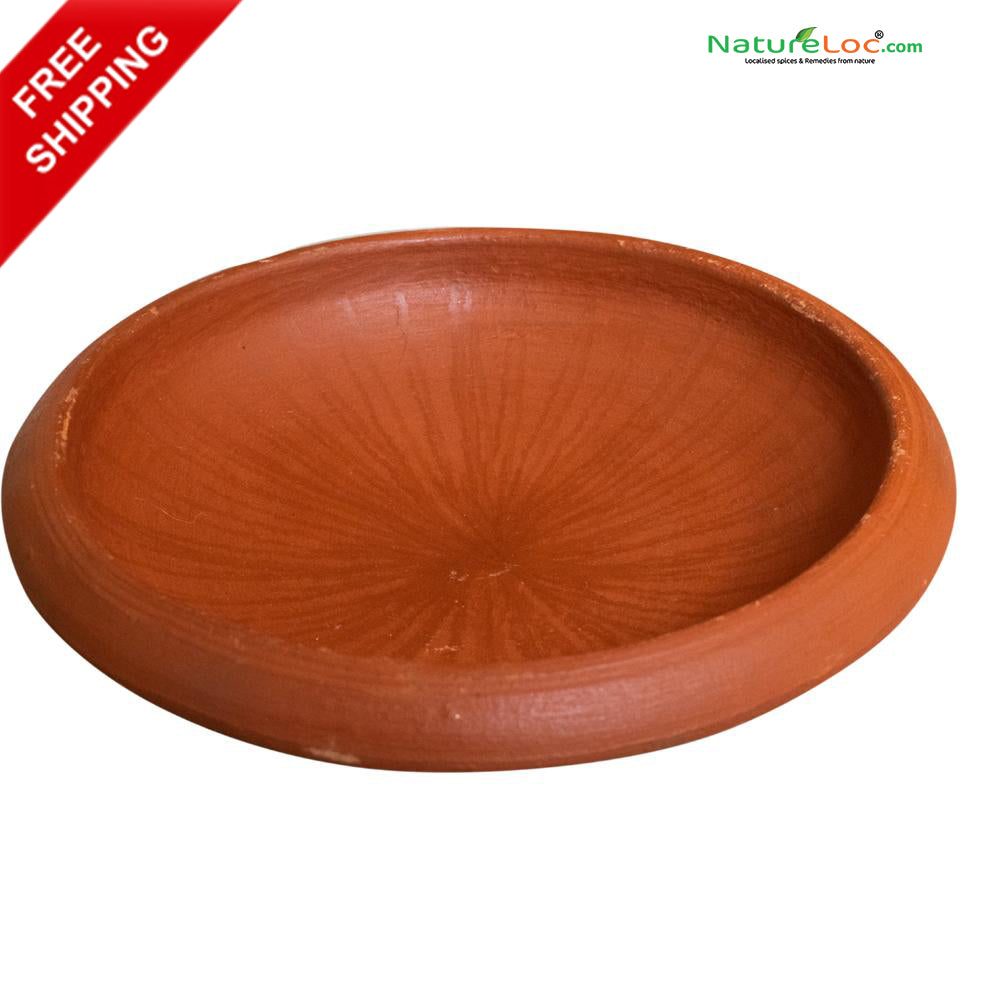 Appachatty, Clay Appachatty, Clay Earthernware Appam Pan, Vella Appam Pan, Vellayappa Chatty - Buy Online