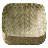 Roti Basket, Serving Bamboo Basket, Small Sized Bamboo Reed Basket, Food Serving Bamboo Reed Basket - Buy Online
