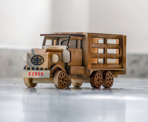 Wooden Toy Lorry or Truck, Toy Truck, Handmade Wooden Truck, Wooden Toys - Buy Online