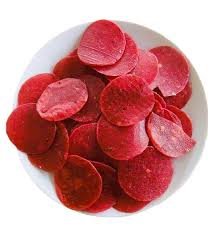 Beetroot Pappad, Beetroot rice Pappads, Round shaped Rice Papads with Beetroot - Buy Online