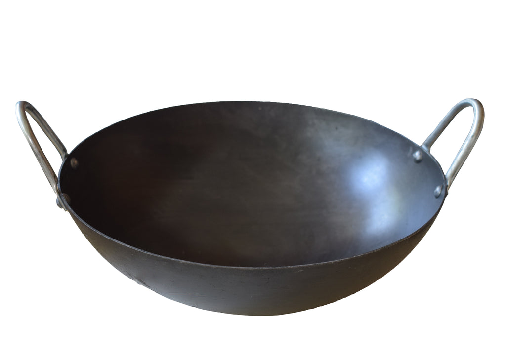 Iron Kadai, Iron Kadhai, Cheena Chatti, Deep Fry Pan - Buy Online