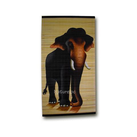 Bamboo Wall Hanging Paintings, Bamboo Strands with Paintings, Wall Hanging Paintings, Bamboo Painting Mat - Buy Online