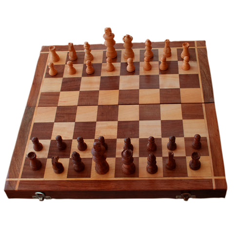 Chess Board Set, Wooden Chess Set, Handmade Wooden Chess Board, Handcrafted Wooden Chess Set, Foldable Wooden Chess Board - Buy Online