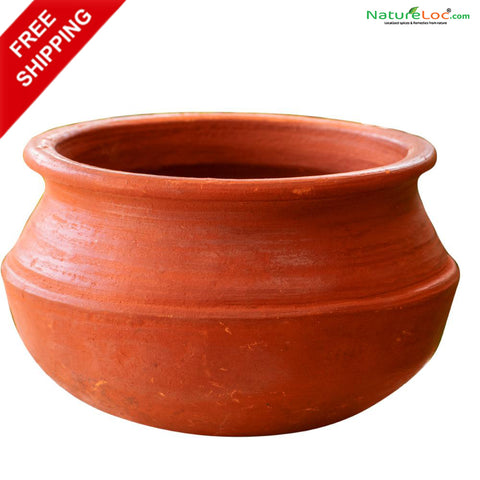Clay Cooking Pot, Clay Pot, Mankalam, Manpatram, Earthen Pots, Nadan Mankalam - Buy Online