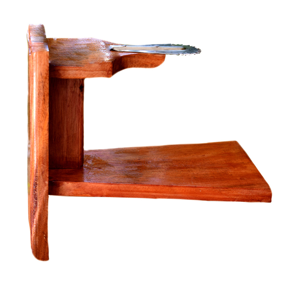 Chirava, Wooden Table Coconut Scrapper, Thenga Chirava, Movable Table Coconut scraper for Tables -  Buy Online