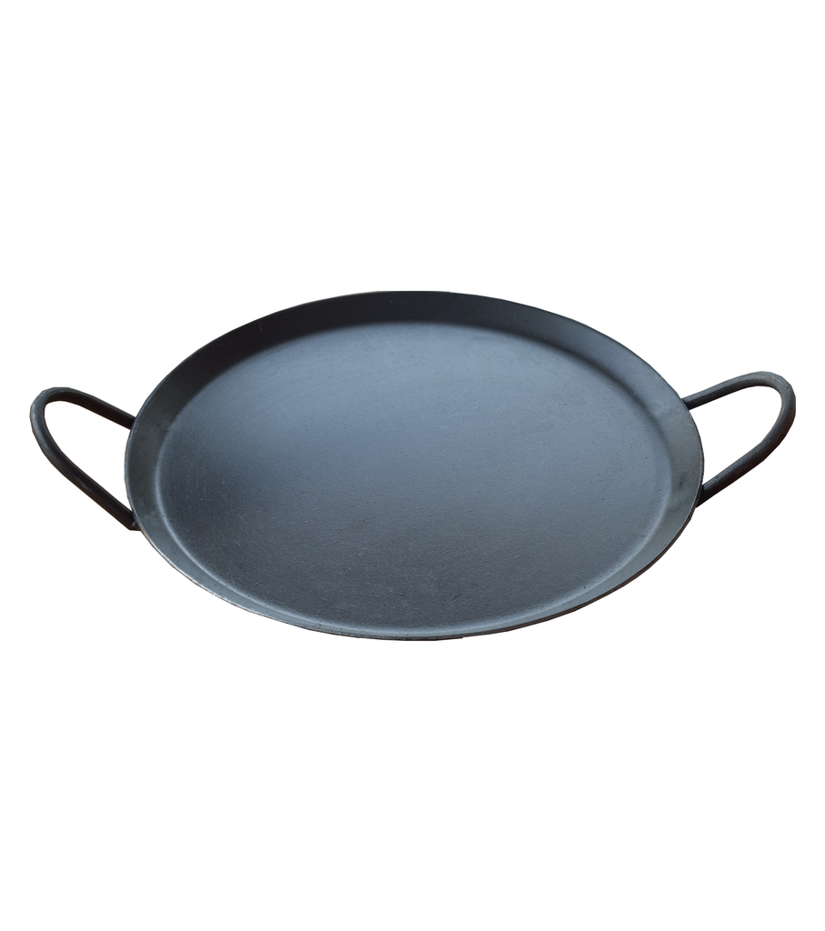 Iron Dosa or Chapati Tawa with Iron Handle, Flat Iron Dosa Pan, Iron Handles Chapati Pan - Buy Online