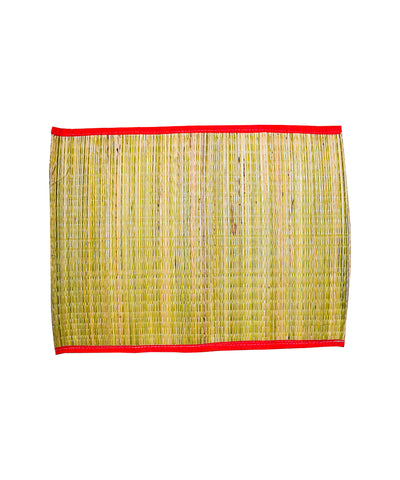 Grass Mat for Pooja, Pooja Pulpaya, Small Sized Pooja Grass Mat, Handmade Grass Mat, Grass Chatai - Buy Online