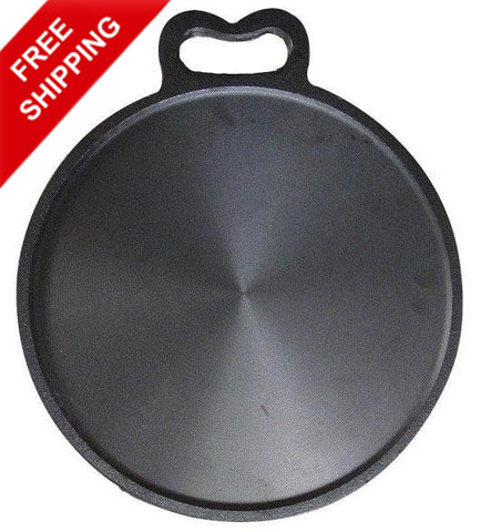 Iron Tawa Seasoned Cast Iron Thava Dosa Kallu Seasoned - Buy Online